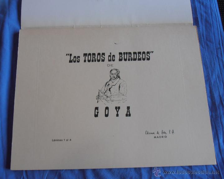 Varios objetos de Arte: Los toros de Burdeos y otras litografias - Foto 17 - 40399243