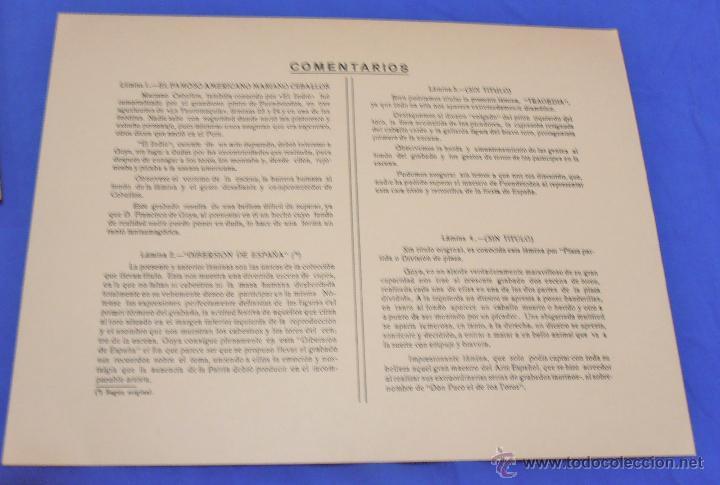 Varios objetos de Arte: Los toros de Burdeos y otras litografias - Foto 18 - 40399243