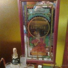 Varios objetos de Arte: ANTIGUO CUADRO ESPEJO CAVAS CASTELLBLANCH JOYA DE COLECCION!! 35 CM X 67 CM. Lote 40636953