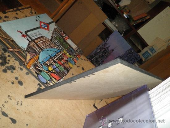 Varios objetos de Arte: CUADRO REPRODUCCIÓN DE 50X50 cm POP ART: BLANCANIEVES Y APPLE. ANTONIO DE FELIPE - Foto 2 - 77505195