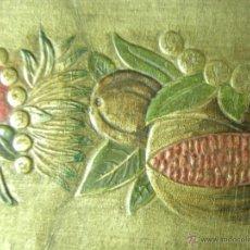 Varios objetos de Arte: CUERO CORRE-CAMINOS, TRABAJADO TALLER -LAPAYESE-. Lote 40941750