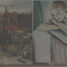 Varios objetos de Arte: AL AIRE LIBRE - ÓLEO SOBRE PAPEL PREPARADO DE ENRIQUE ESTEVAN Y VICENTE.. Lote 41524039