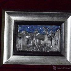 Varios objetos de Arte: PAISAJE CASTELLANO-MANCHEGO (HOMENAJE A EL QUIJOTE). Lote 41615815