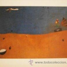 Varios objetos de Arte: LÁMINA DE ARTE, PAYSAGE AU COQ, JOAN MIRÓ, 30 X 24 CMS. Lote 41744192