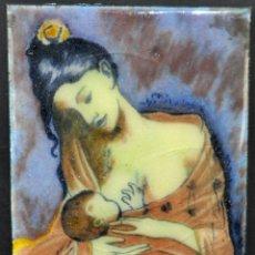 Varios objetos de Arte: ANTIGUO ESMALTE DE PRINCIPIOS DEL SIGLO XX. Lote 41942273