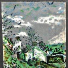 Varios objetos de Arte: ANTIGUO ESMALTE DE PRINCIPIOS DEL SIGLO XX. Lote 41942508