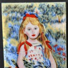 Varios objetos de Arte: ANTIGUO ESMALTE DE PRINCIPIOS DEL SIGLO XX. Lote 41942671
