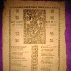 Varios objetos de Arte: GOIG, LOS GOIGS DE NOSTRA SENYORA DE BESORA BISBAT DE VICH 1670. Lote 42012160