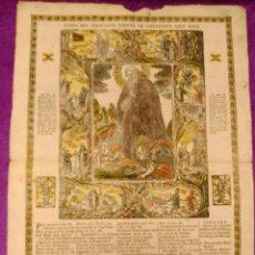 Varios objetos de Arte: GOIG DEL MIRACULOS MARTIR DE CATALUNYA SANT MAGI GOIG 1798. Lote 42022932