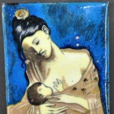 Varios objetos de Arte: ANTIGUO ESMALTE DE PRINCIPIOS DEL SIGLO XX. Lote 42113444