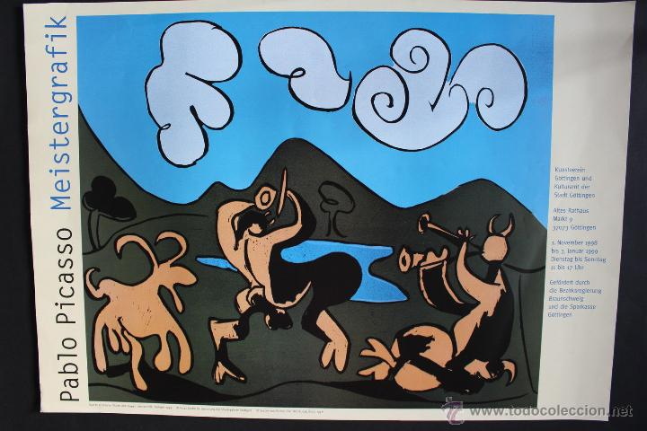 CARTEL A1 PABLO PICASSO (GÖTTINGEN. 1998) (Arte - Varios Objetos de Arte)