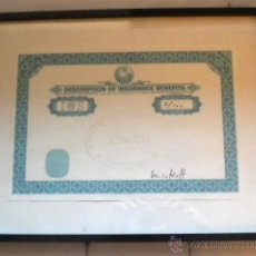 Varios objetos de Arte: UN BURIN ET TAMPON - FIRMADO MINKOFF - TITULO CRACC - MIK IG71. Lote 42477098