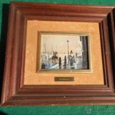 Varios objetos de Arte: CUADRO DE PALMERO - ESMALTE. Lote 42908032