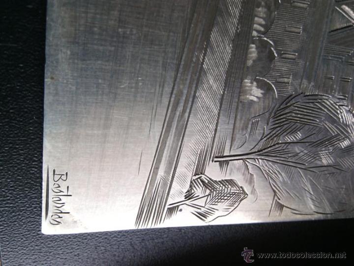 Varios objetos de Arte: Jordi Samsó Bastardas 1929 - 2008 (Barcelona) en plata firmada. EL SENA. - Foto 3 - 39049870