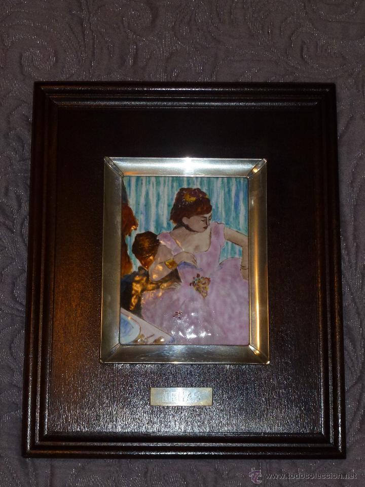 Varios objetos de Arte: Cuadro en madera con esmalte y plata - Foto 4 - 42969826