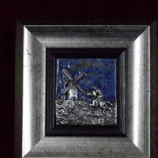 Varios objetos de Arte: PAISAJE CASTELLANO-MANCHEGO (HOMENAJE A EL QUIJOTE). Lote 41615751