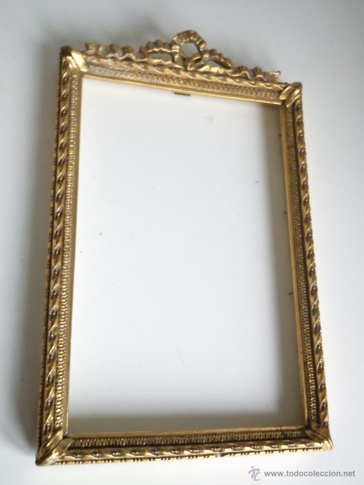 preciosa y antiguo marco para cuadro hecha de m - Comprar en ...