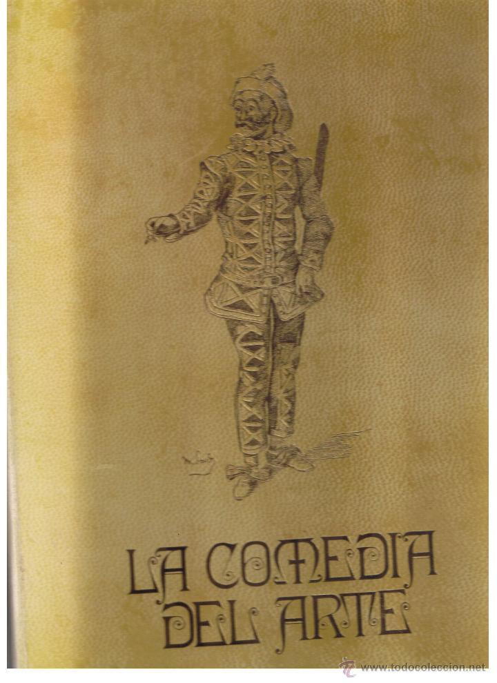 LA COMEDIA DEL ARTE. CARPETA CON 40 LAMINAS. ALFREDO MARQUERIE. COLECCIÓN ARTE ROGER.(B/A63) (Arte - Varios Objetos de Arte)