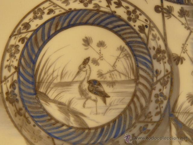 Varios objetos de Arte: OPALINA PINTADA A MANO - Foto 3 - 44495056