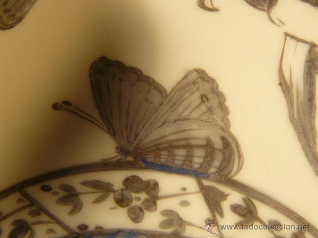 Varios objetos de Arte: OPALINA PINTADA A MANO - Foto 6 - 44495056