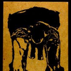 Varios objetos de Arte: 1 JOSÉ MENCHERO, LEÓN1956 RESIDIÓ EN PARIS EN 1984 SE INSTALO EN BARCELONA, FIRMADO Y DEDICADOALAPIZ. Lote 44518042