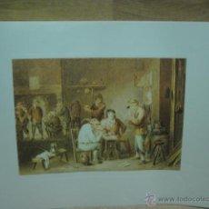 Varios objetos de Arte: LAMINA CON GRABADO . Lote 44746925