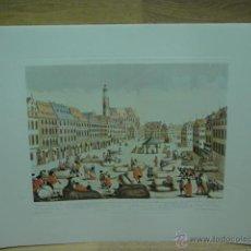 Varios objetos de Arte: LAMINA CON GRABADO . Lote 44746939