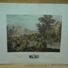 Varios objetos de Arte: LAMINA CON GRABADO . Lote 44746948