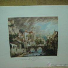 Varios objetos de Arte: LAMINA CON GRABADO . Lote 44746962