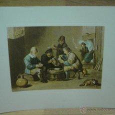 Varios objetos de Arte: LAMINA CON GRABADO . Lote 44747011