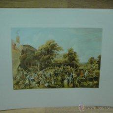Varios objetos de Arte: LAMINA CON GRABADO . Lote 44747024