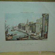 Varios objetos de Arte: LAMINA CON GRABADO . Lote 44747042