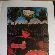 Varios objetos de Arte: CARTEL DE HERNANDO VIÑES GALERIA THEO. Lote 45172179