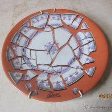 Varios objetos de Arte: PLATO PORCELANA ASSIETTE BRISEE - CESAR 1973 - EDITION ATELIER . Lote 45584224
