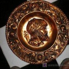 Varios objetos de Arte: PLATO DE COBRE. Lote 7798117