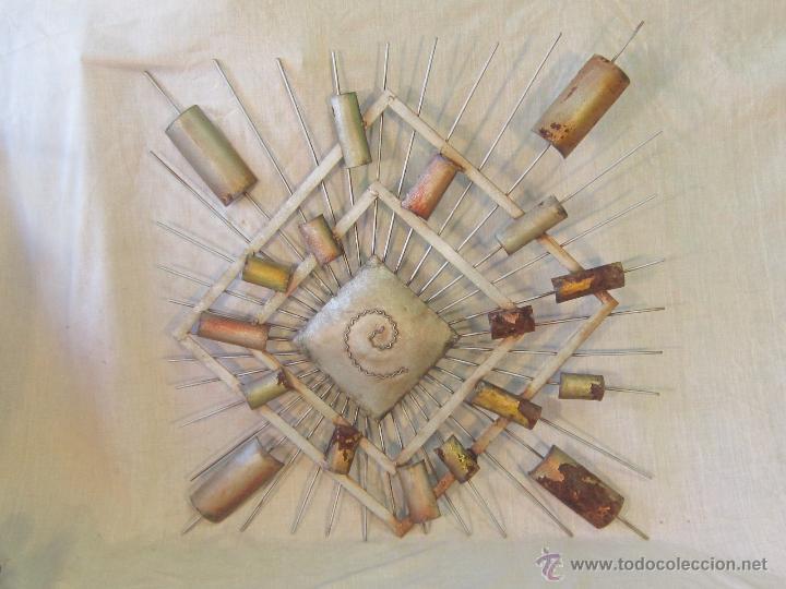 CUADRO ABSTRACTO EN HIERRO (Arte - Varios Objetos de Arte)