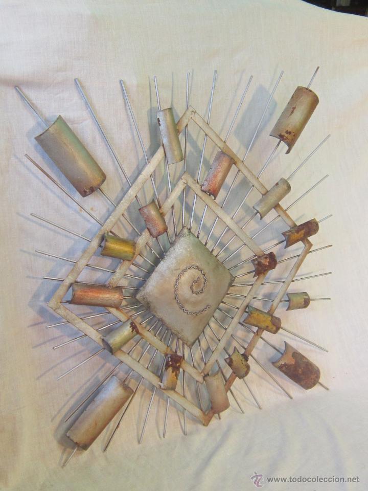 Varios objetos de Arte: CUADRO ABSTRACTO EN HIERRO - Foto 3 - 46122202