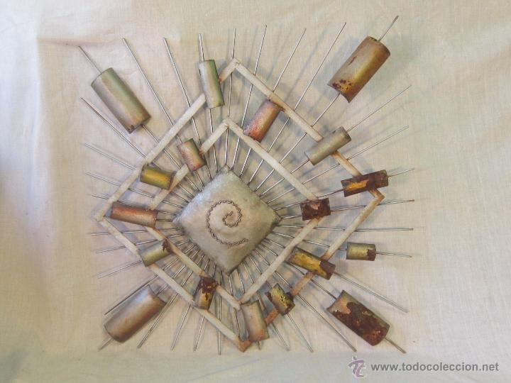 Varios objetos de Arte: CUADRO ABSTRACTO EN HIERRO - Foto 4 - 46122202