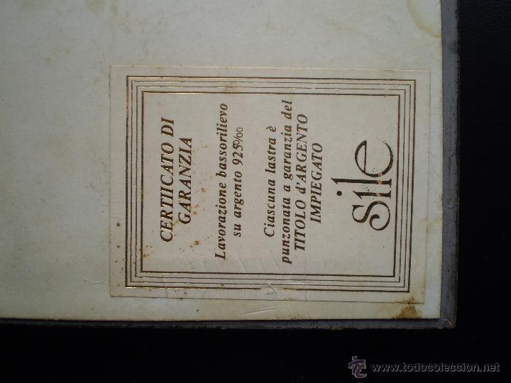 Varios objetos de Arte: CUADRO CON PLACA DAMA EN PLATA DE LEY - Foto 4 - 46492332