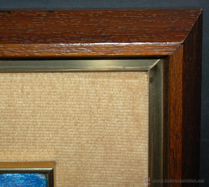 Varios objetos de Arte: MONTSERRAT MAINAR BENEDICTO (Barcelona, 1928) ESMALTE. ALEGORÍA A LA PRIMAVERA - Foto 10 - 46395529