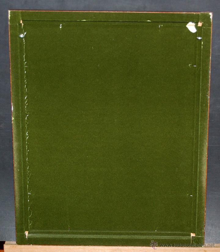Varios objetos de Arte: MONTSERRAT MAINAR BENEDICTO (Barcelona, 1928) ESMALTE. ALEGORÍA A LA PRIMAVERA - Foto 12 - 46395529