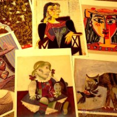 Varios objetos de Arte: SEIS LÁMINAS DE PICASSO. Lote 46966660