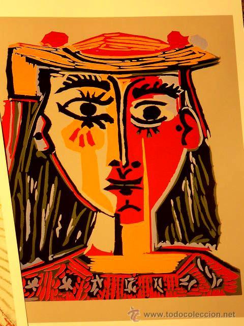 Varios objetos de Arte: seis láminas de Picasso - Foto 5 - 46966660