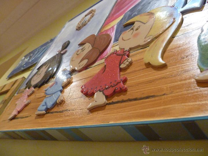 Varios objetos de Arte: Familia Telerin Precioso óleo mixto personalizado regalo perfecto ideal decoracion infantil - Foto 8 - 47082891