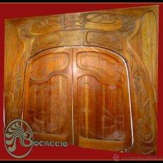 Varios objetos de Arte: PUERTA ORIGINAL MODERNISTA DE MÍTICA DISCOTECA BOITE BOCACCIO DE BARCELONA AÑO 1967 ART NOUVEAU (45. Lote 47176537