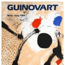 Varios objetos de Arte: JOSEP GUINOVART - GALERIA JOAN PRATS - 1984. Lote 47205777