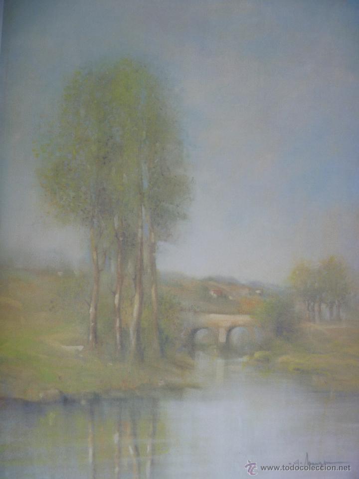 PRECIOSA ACUARELA ALFERIO MAUGERI LÁMINA GRABADA (Arte - Varios Objetos de Arte)