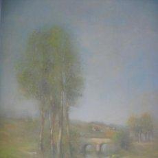 Varios objetos de Arte: PRECIOSA ACUARELA ALFERIO MAUGERI LÁMINA GRABADA. Lote 47342758