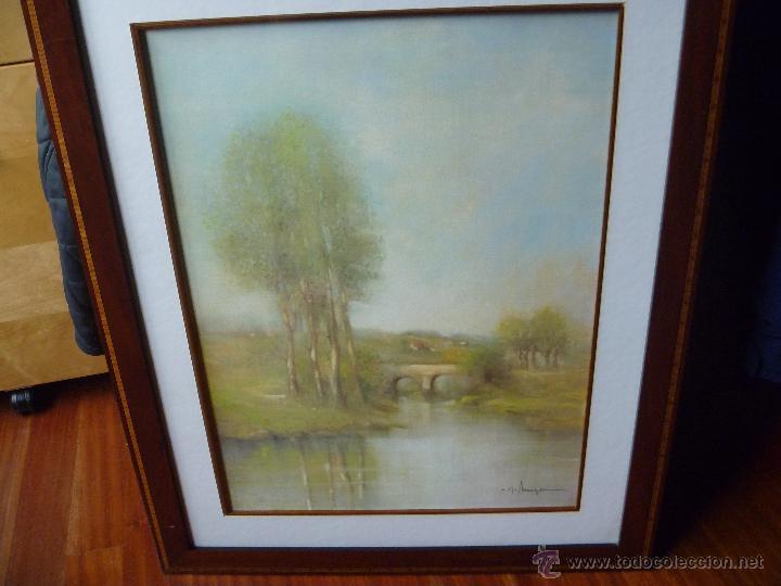 Varios objetos de Arte: Preciosa acuarela Alferio Maugeri lámina grabada - Foto 2 - 47342758