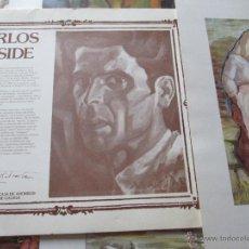 Varios objetos de Arte: X-Aº FACSIMIL-6 LÁMINAS-PINTOR CARLOS MASIDE(GALLEGO)-CAIXAGALICIA-1980-ARCHIVADOR ORIGINAL-BUEN ES. Lote 47360928